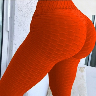Lovely Sportswear Basic Red Plus Size Pants