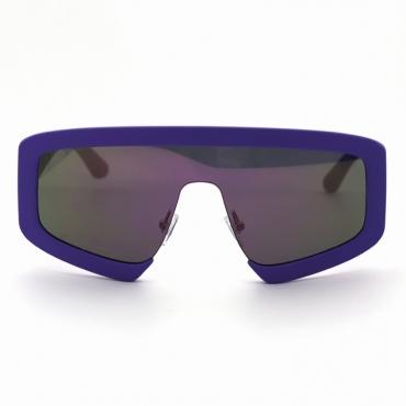 lovely Chic Big Frame Design Blue Sunglasses