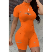 lovely Sexy Hollow-out CrociOne-piece Romper