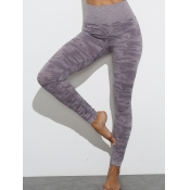 lovely Sportswear High-waisted Skinny Purple Pants