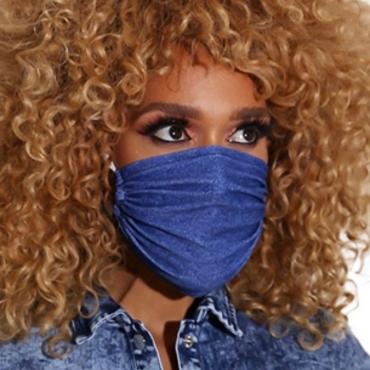 lovely Basic BlueFace Mask