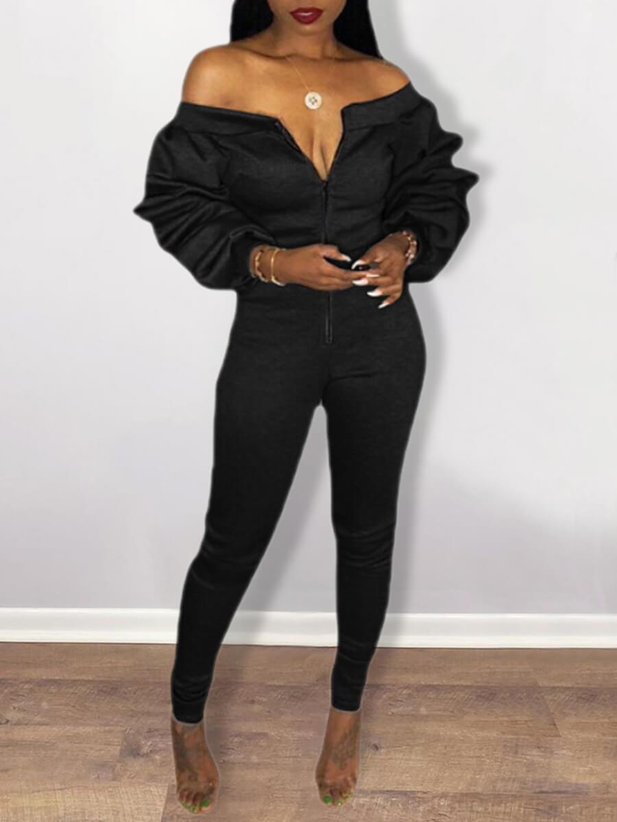 LW SXY Fold Design Jumpsuit