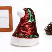 lovely Christmas Sequined Red Hat