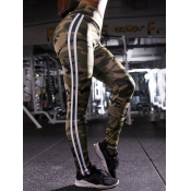 lovely Sportswear Camo Print Skinny Leggings