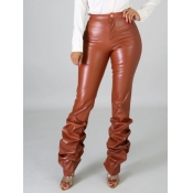 lovely Street Heap Skinny Brown Pants