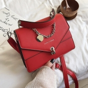 Lovely Casual Metal Accessories Decoration Red Cro