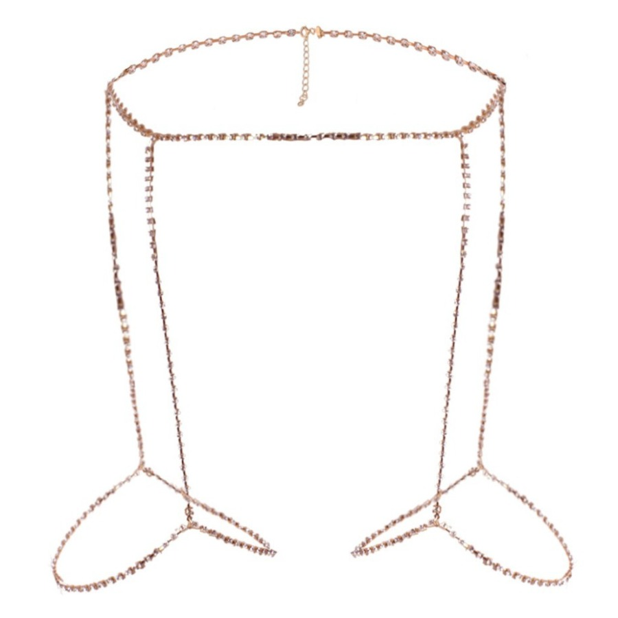 LW SXY Bandage Design Gold Body Chain
