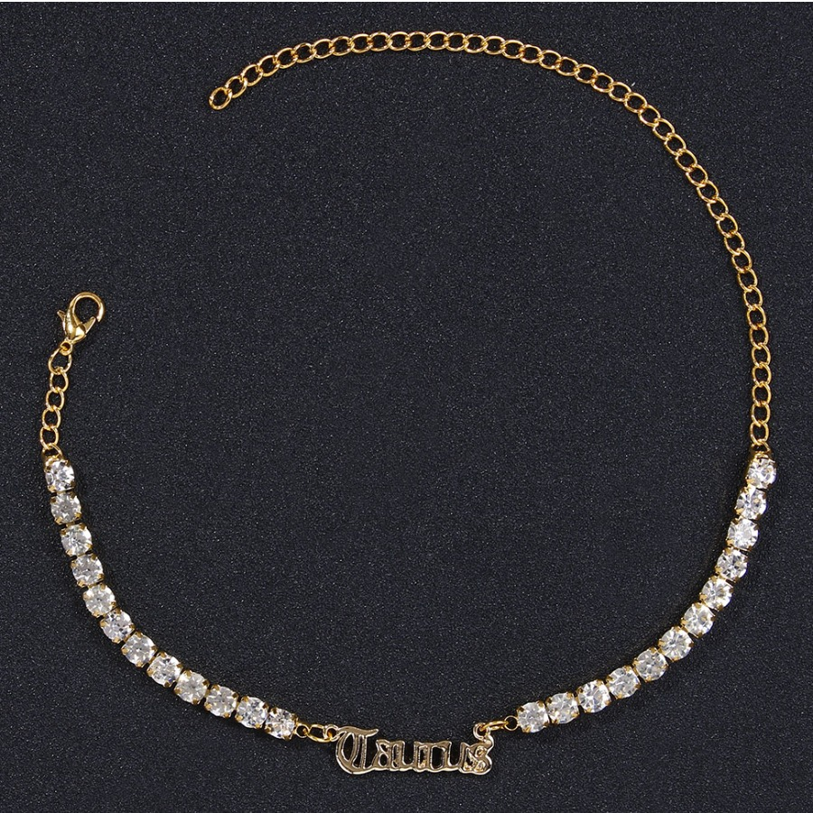 LW Taurus Casual Letter Decoration Maize Body Chain