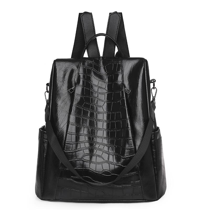 Lovely Embossed Adjustable Strap Backpack