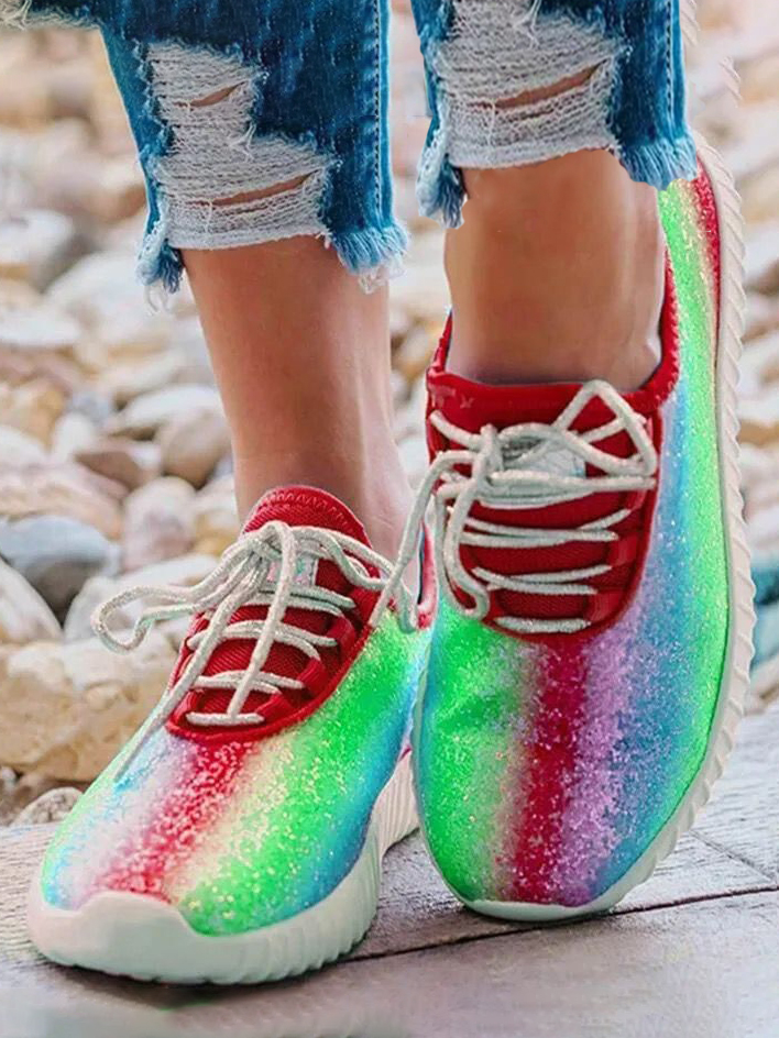 LW Gradient Sneakers