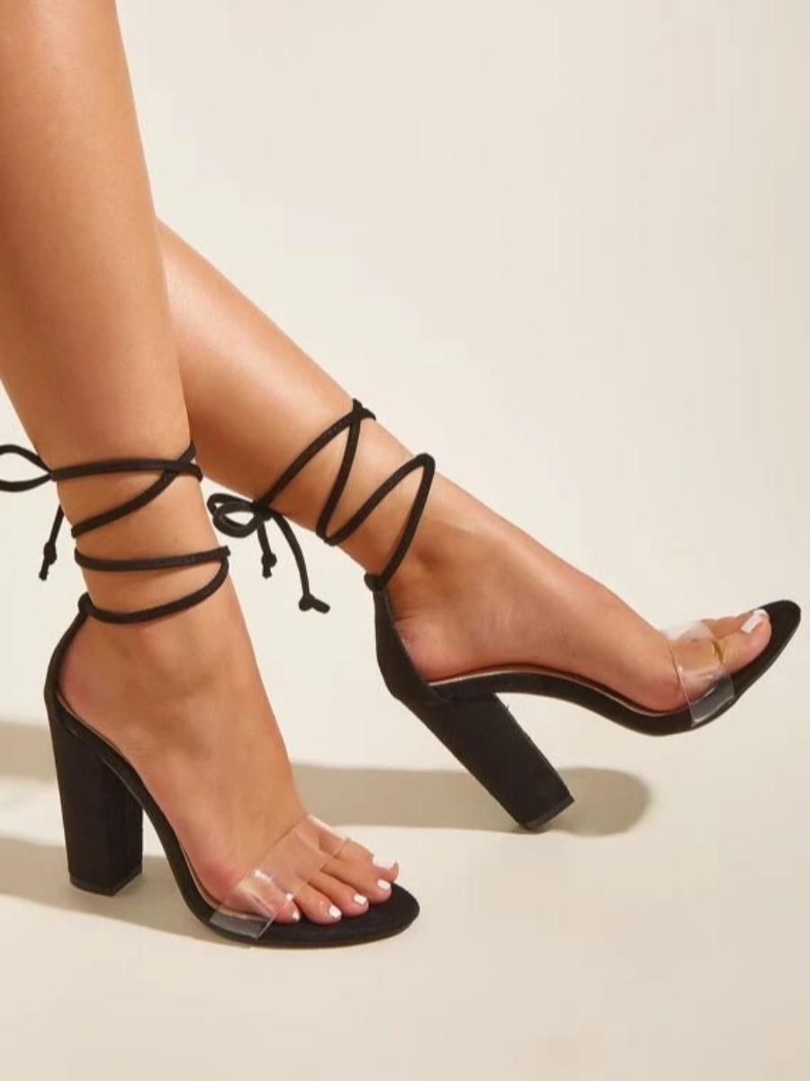 LW SXY Tie Leg Heels