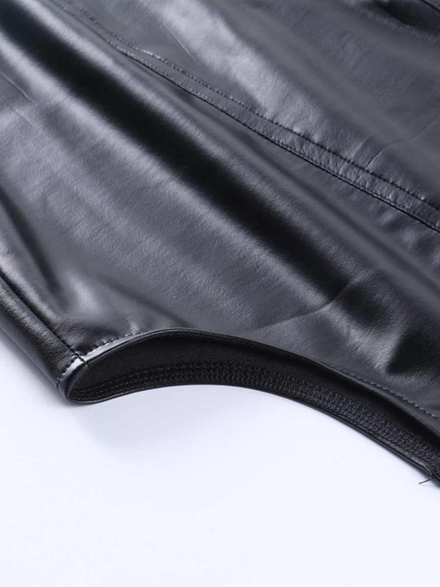 LW Belt Loop Slit Skirt