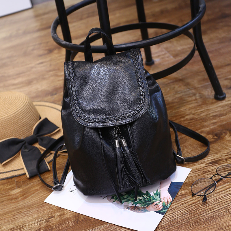 LW Tassel Design Backpack
