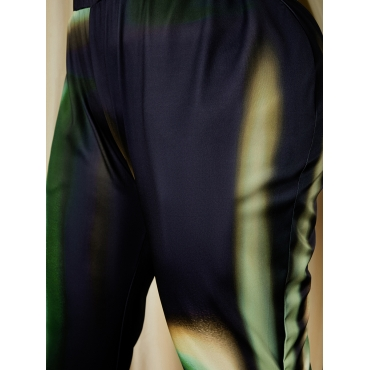 Lovely Plus Size Regular Fit Straight Pants