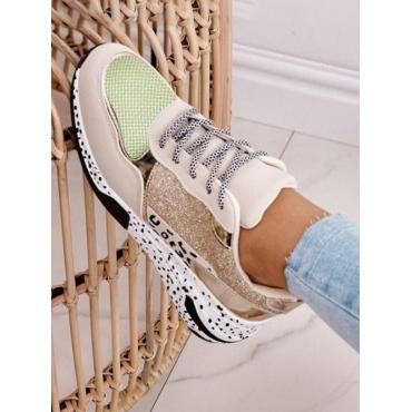 LW Animal Print Sneakers